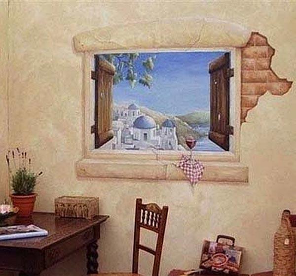 餐厅背景墙效果图