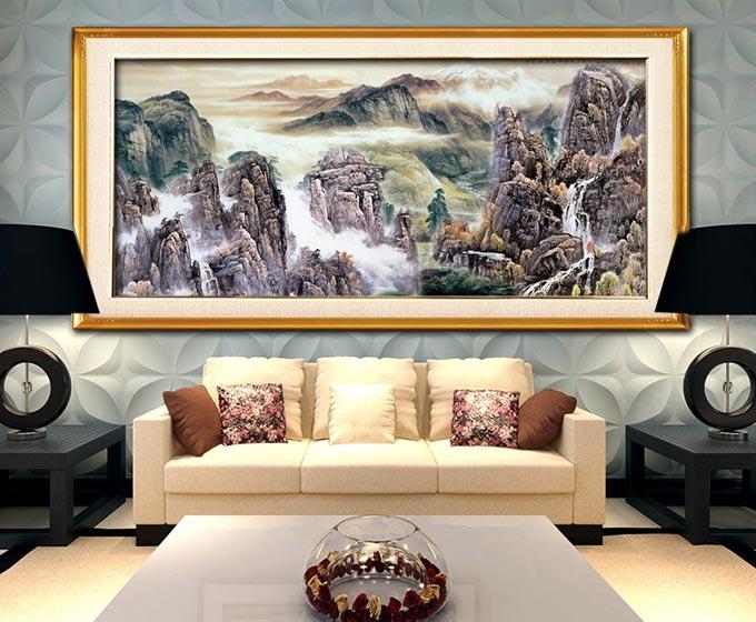 客厅背景墙装修效果图图片