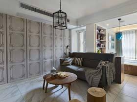 小空间有大视觉 45平米简约一室一厅装修