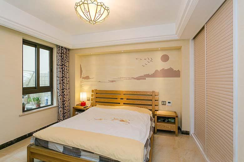 卧室墙面漆效果图