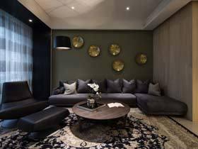 绿色环保宜家日式公寓  装修稳重大气