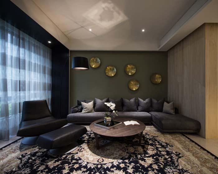 时尚都市日式客厅装修效果图
