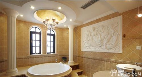 卫生间吊顶材料五:卫生间铝塑板吊顶
