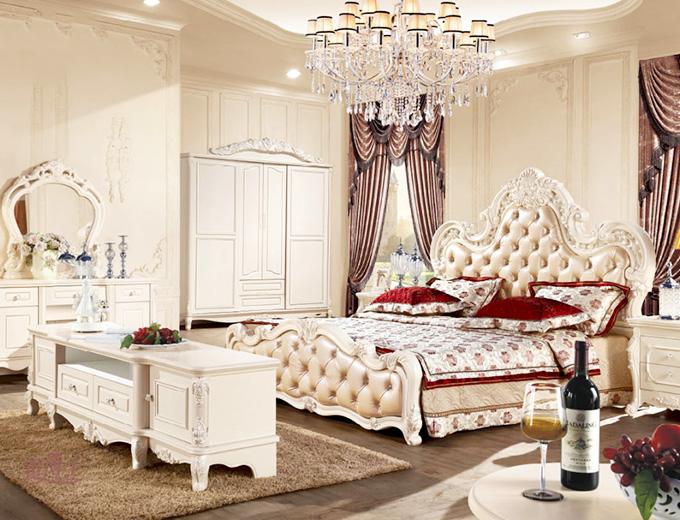 奢华欧式宫廷风 卧室装饰效果图