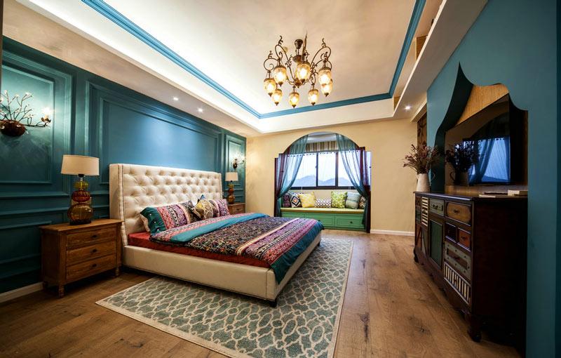 卧室客厅一体装修效果图