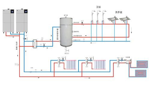 供暖加压泵电路图