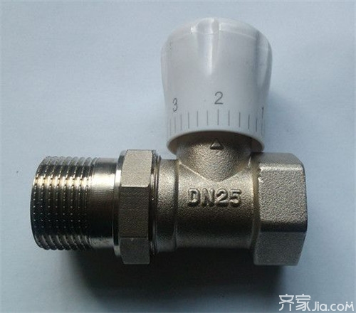 暖气温控阀工作原理 暖气温控阀用途及使用图片