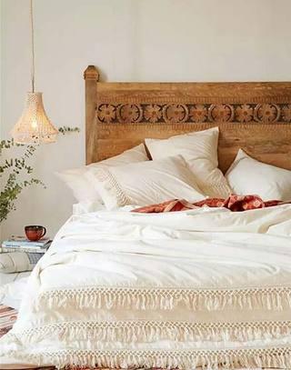 温暖可爱蕾丝床品图片