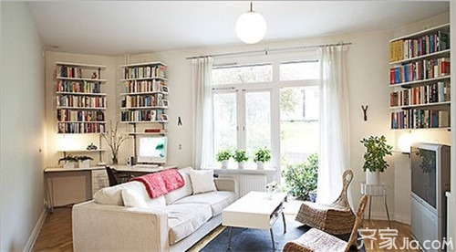 8个风格各异的客厅设计 色彩搭配是亮点