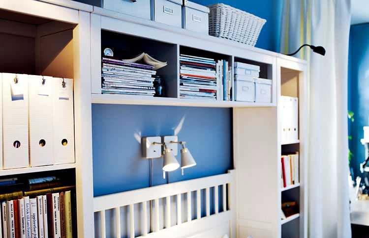 卧室床头收纳柜图片