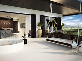 卧室也能荡秋千  11个小户型卧室设计图
