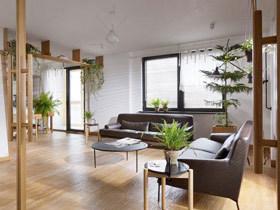 文艺森系宜家风 充满活力的小公寓