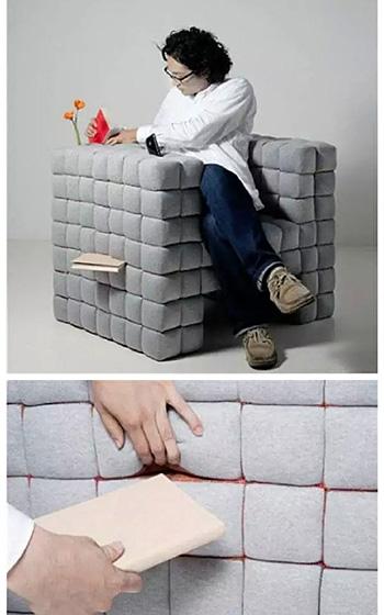 沙发收纳图片