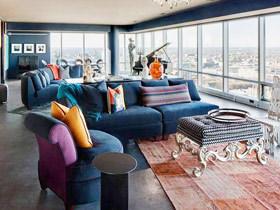 混搭艺术之家 180平米国外公寓装修