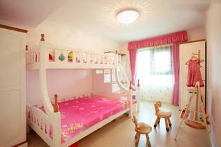 粉色系卧室图片