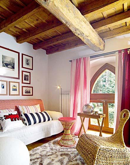85平二层小复式起居室图片高清图片