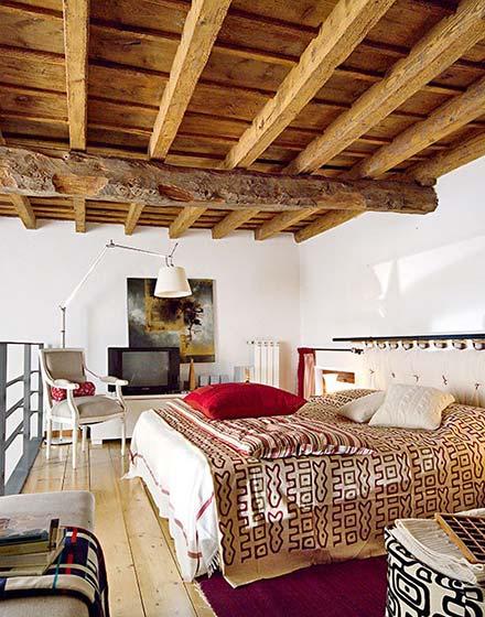 85平二层小复式卧室布置效果图高清图片