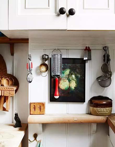54平挑高小户型厨房收纳图片