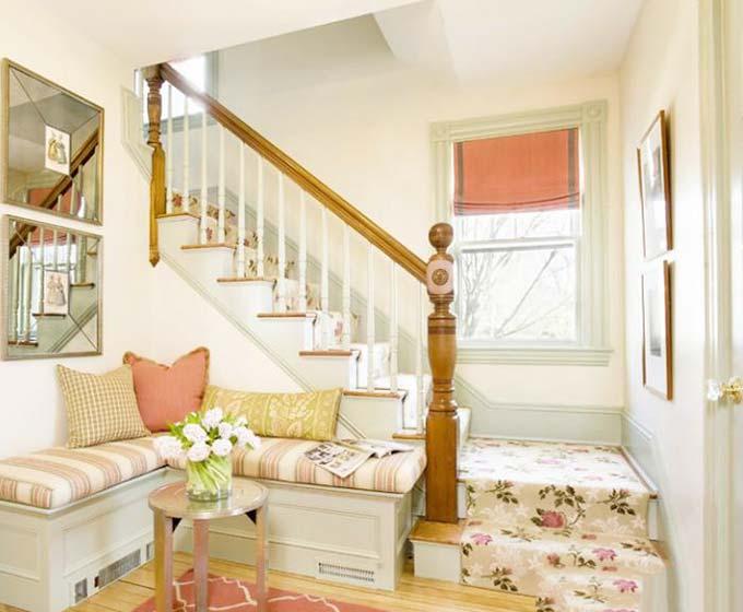 小清新木楼梯图片