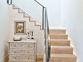 樓梯整容方案  10個復式樓梯裝修圖片