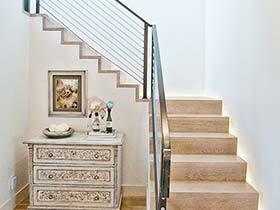 楼梯整容方案  10个复式楼梯装修图片