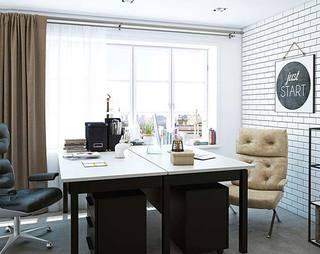 复古轻工业风  120平两居室公寓装修图片6/10