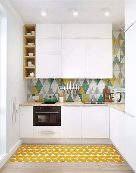 现代简约厨房装饰设计图