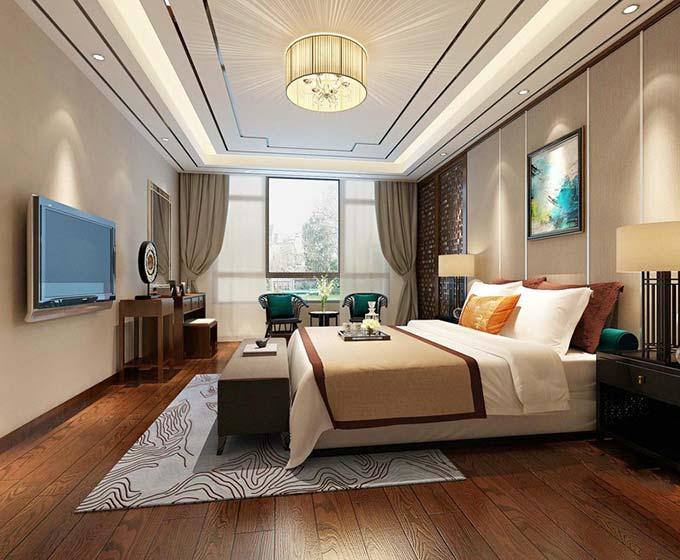 中式卧室装饰效果图