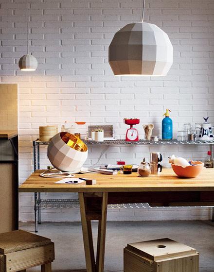 家庭餐厅实木餐桌图片