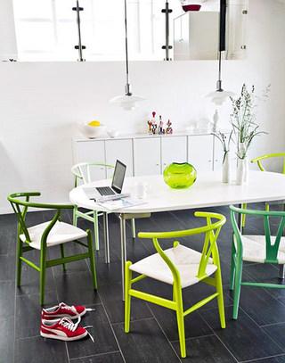 时尚家庭餐桌装修图片