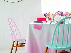 就餐好格调 11个清新桌布色诱餐厅设计