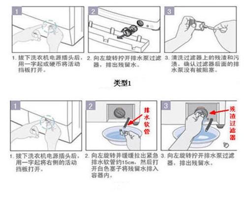 洗衣机不排水是什么原因 洗衣机长期停用怎样保养图片