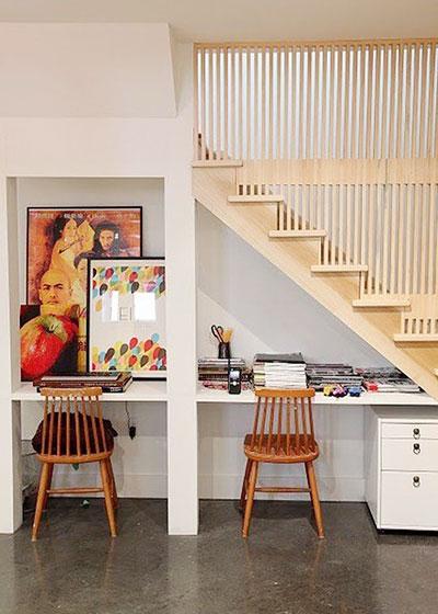 楼梯书房图