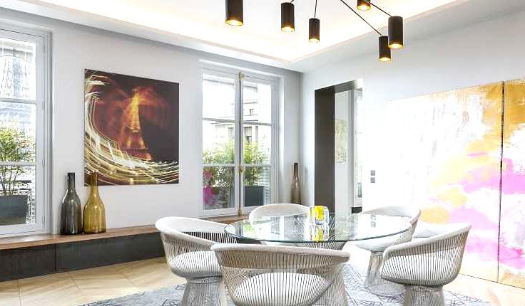 艺术法式餐厅背景墙图片图片