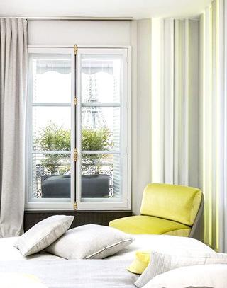 107平法式公寓单人沙发图片