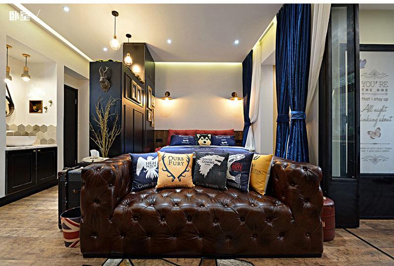 超小户型沙发背景墙装修效果图