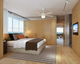 木色卧室效果图片