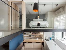 浪漫满屋 36平简约小户型复式房装修