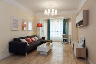 简约风格温馨客厅装修效果图