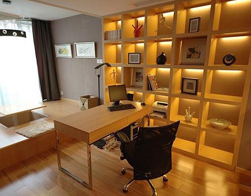 木色书房设计