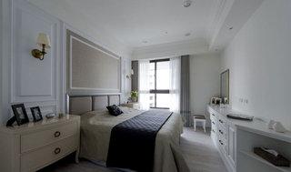 美式别墅舒适卧室装修效果图