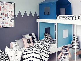 可爱梦想家 13款北欧风格儿童床图片