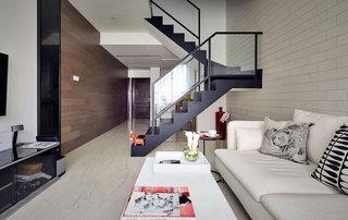 简约风格温馨米色调客厅效果图