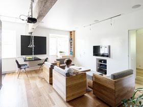 家居變形記 58平模塊家具房子裝修圖