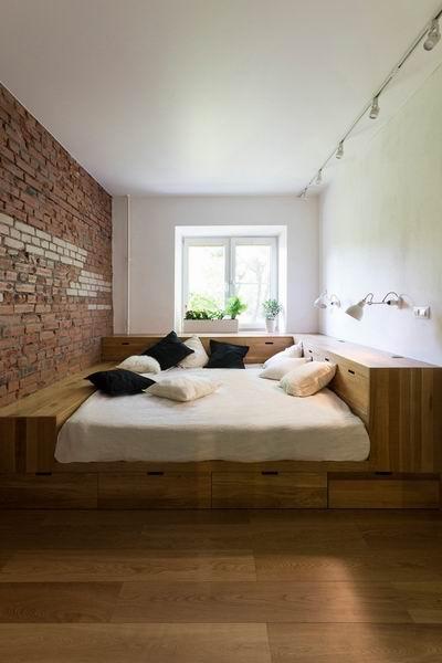 简约风格温馨靠窗卧室装修效果图