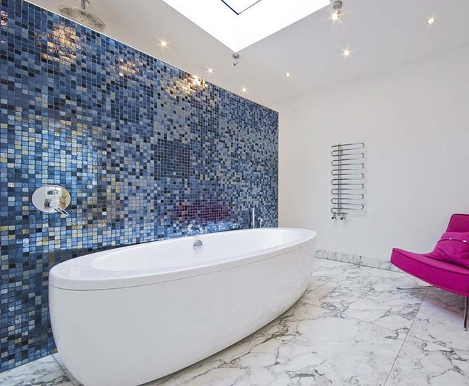 浴室背景装修效果图