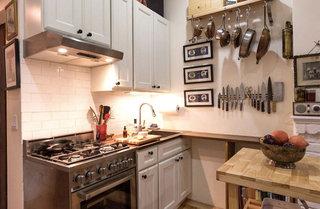 超小户型美式开放式厨房装修效果图
