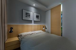 简约风格小户型主卧室装修效果图
