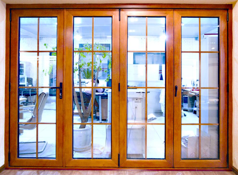 铝包木门窗分类