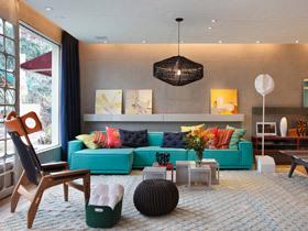 多元素混搭风别墅 更多色彩更多欢乐